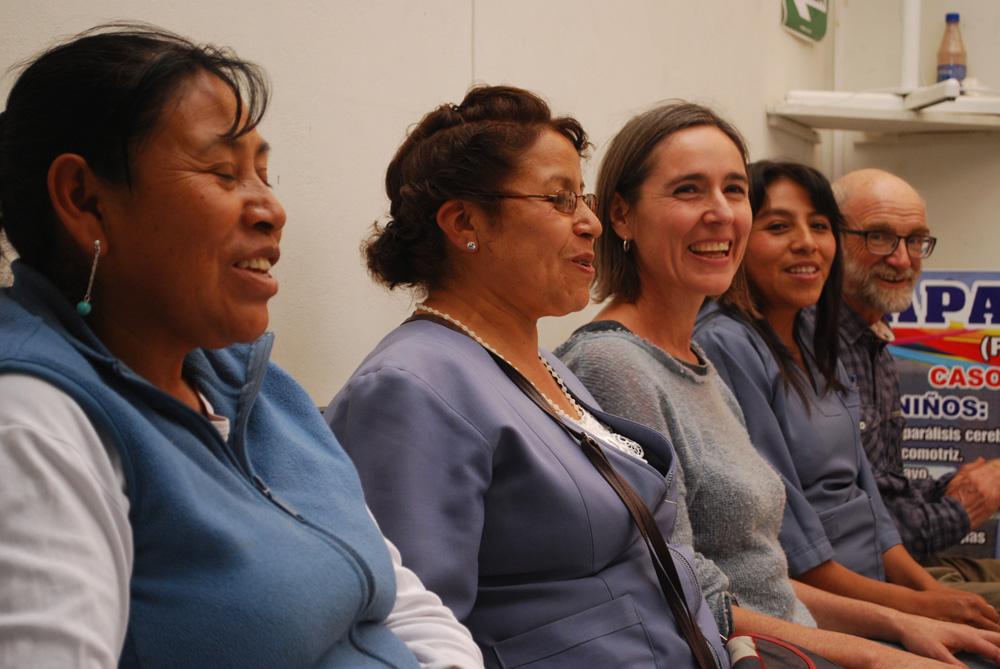 Manuela, Margarita, Béatrice, Veronica, Jean : La despedida