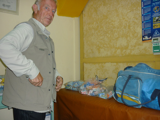 mission shiatsu perou beatrice bernard mai 2010 ; Dr Jean-Jacques Salvignol