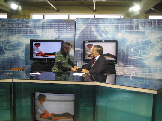 mission shiatsu perou beatrice bernard mai 2010 television Cusco